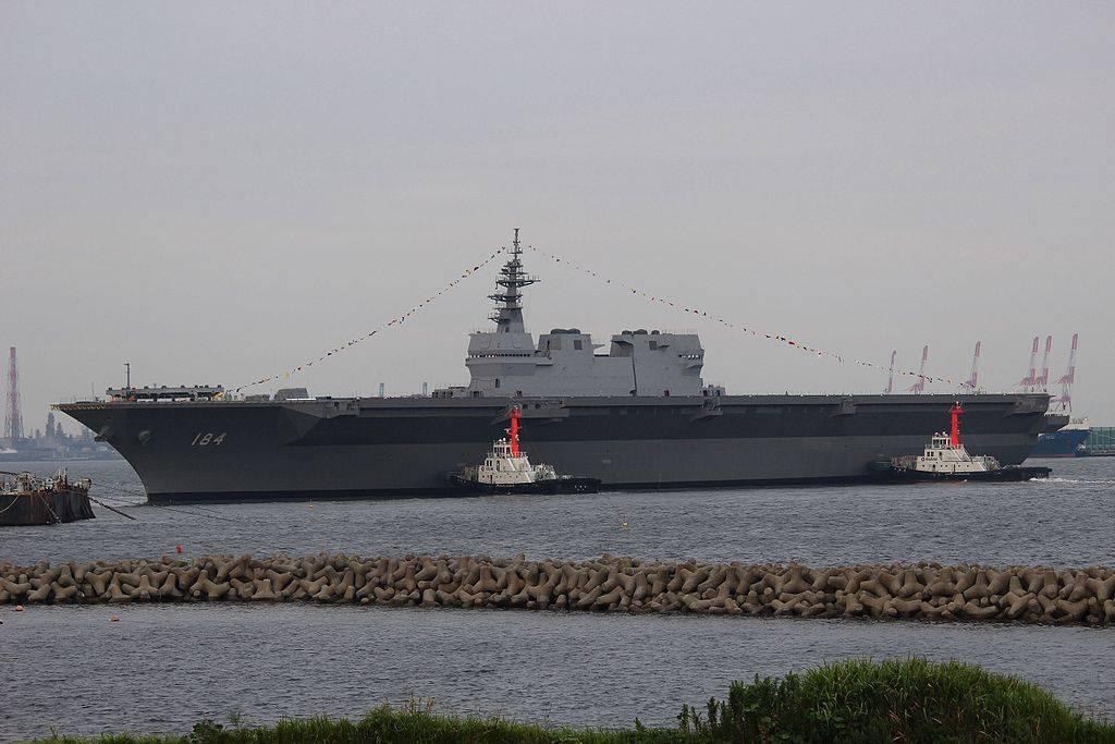 Kaga Japan Helikopterträger Militär