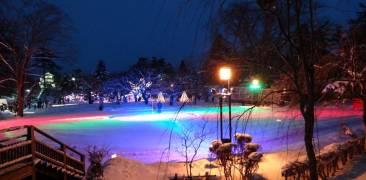 Hirosaki Snow Lantern Festival in Hirosaki
