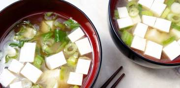 Miso-Suppe Japan rezept Küche
