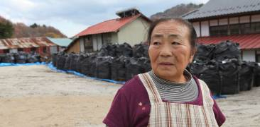 Fukushima Iitate Wiederaufbau Kontaminierung Dekontaminierung