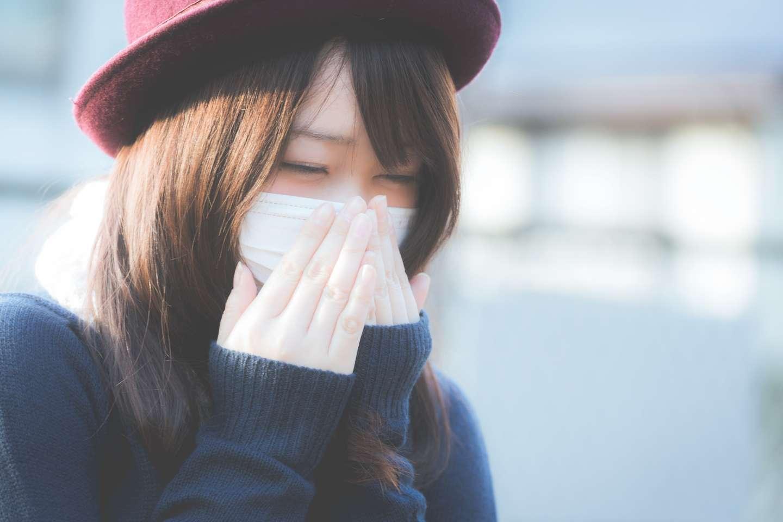 Meiwaku Erkältung Japan Maske Atemmaske Niesen Schnäuzen