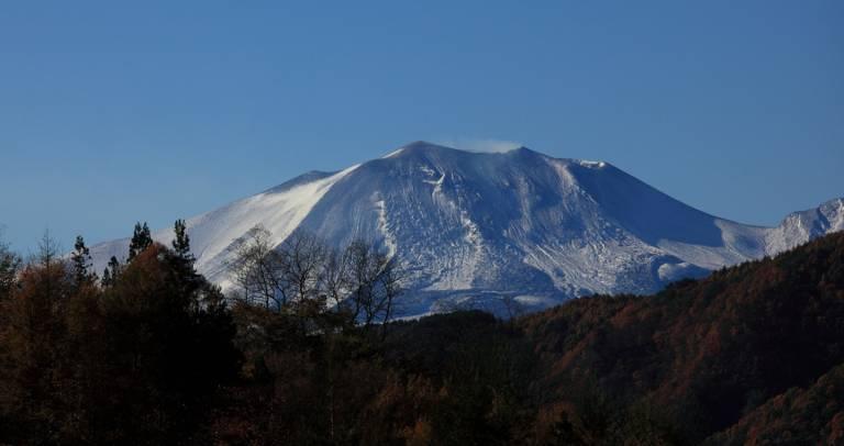 Karuizawa Asama Asamayama Asama-yama Berg Japan Vulkan