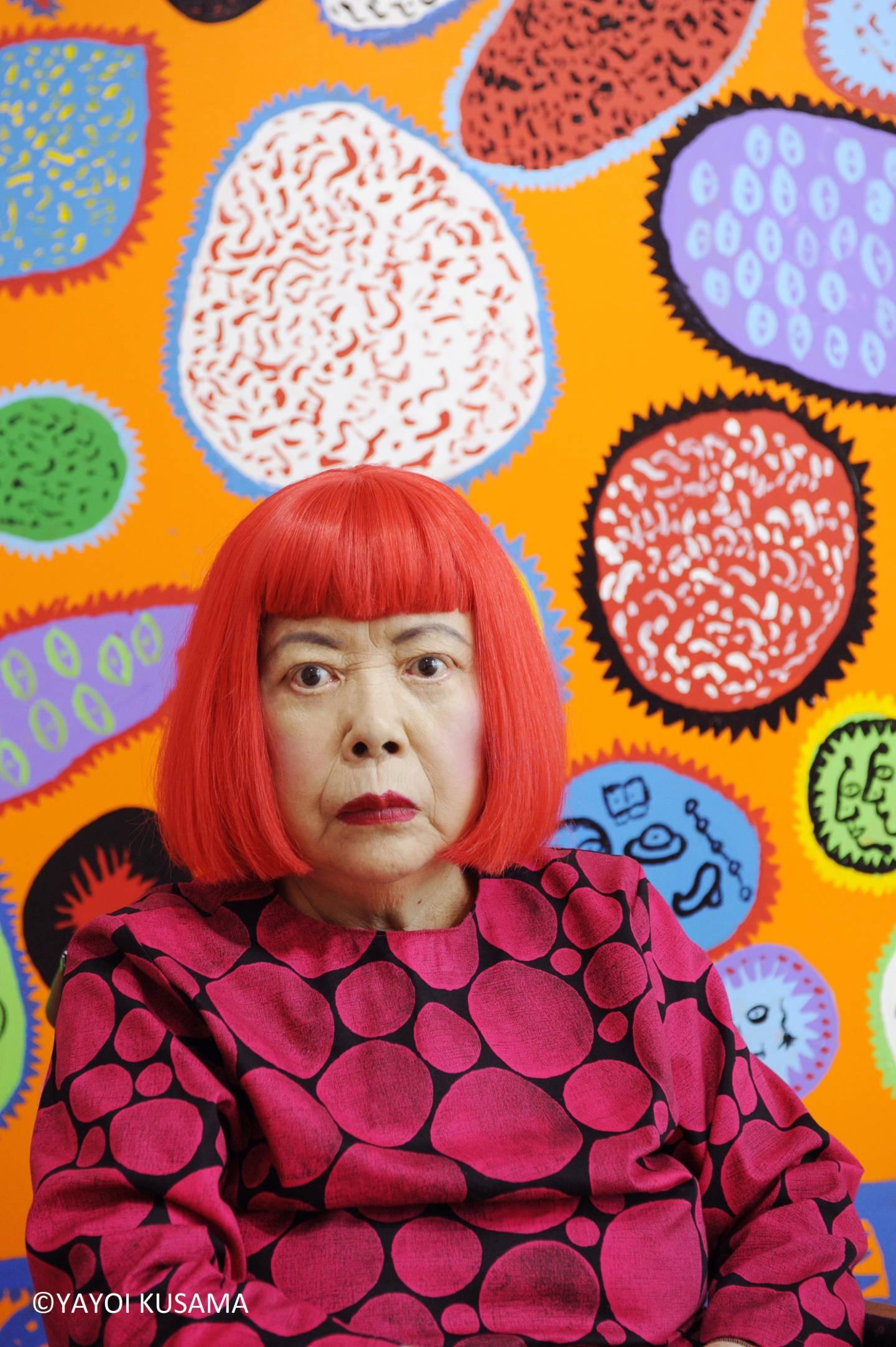 Kusama Yayois Anliegen: Menschen durch Kunst vereinen. ©YAYOI KUSAMA