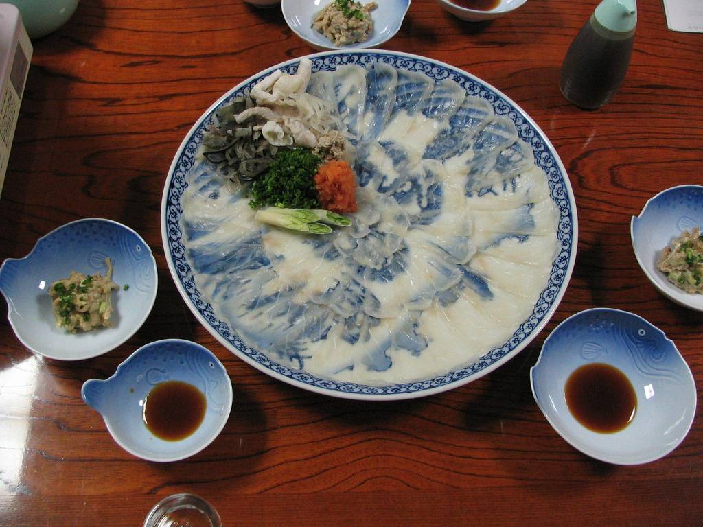 Ekel-Essen Japan Kugelfisch Fugu