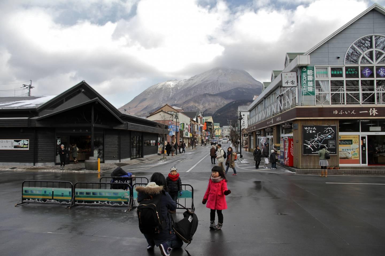 Yufu-dake Japan Kyushu Berg