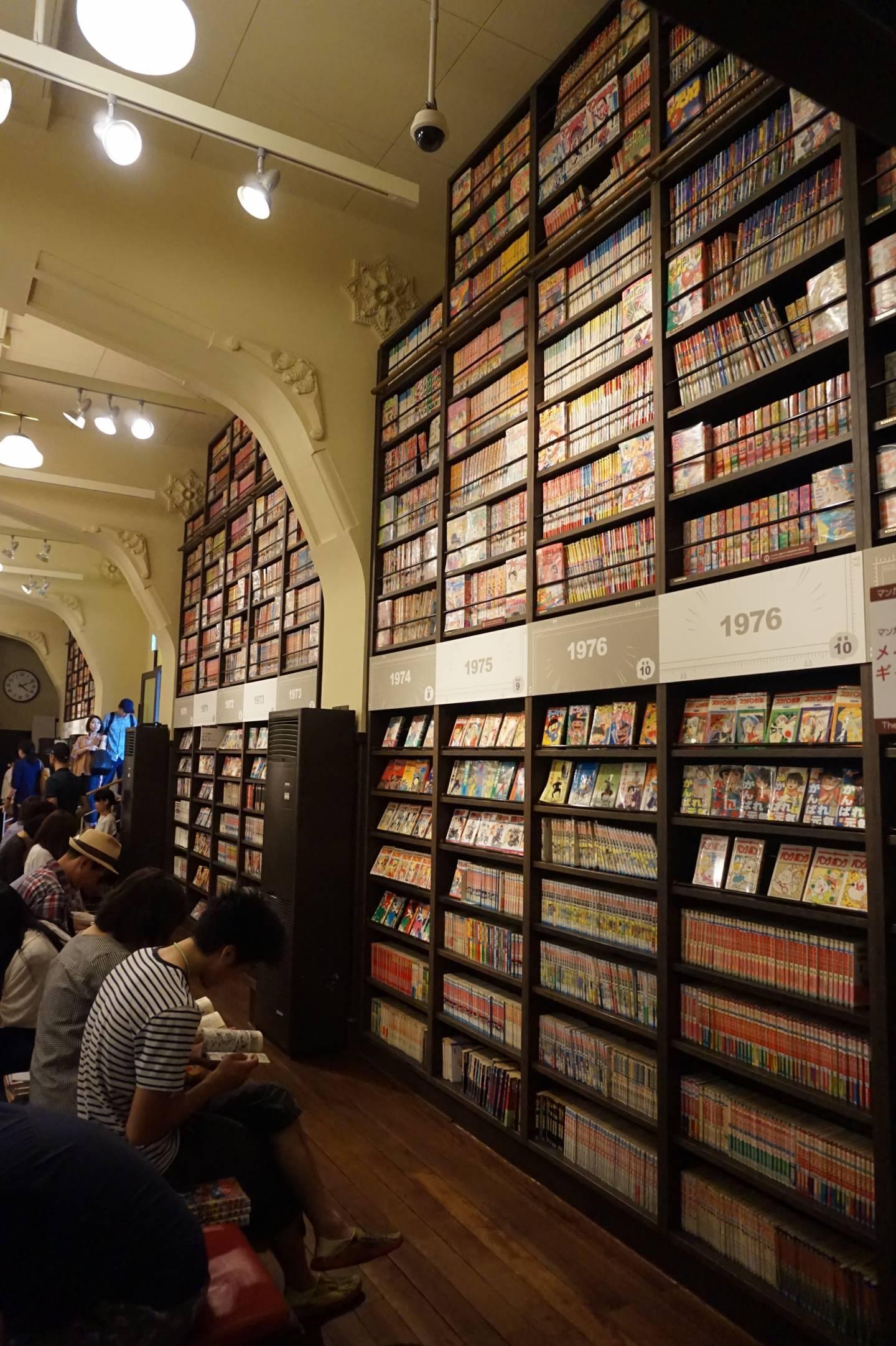 international manga musuem