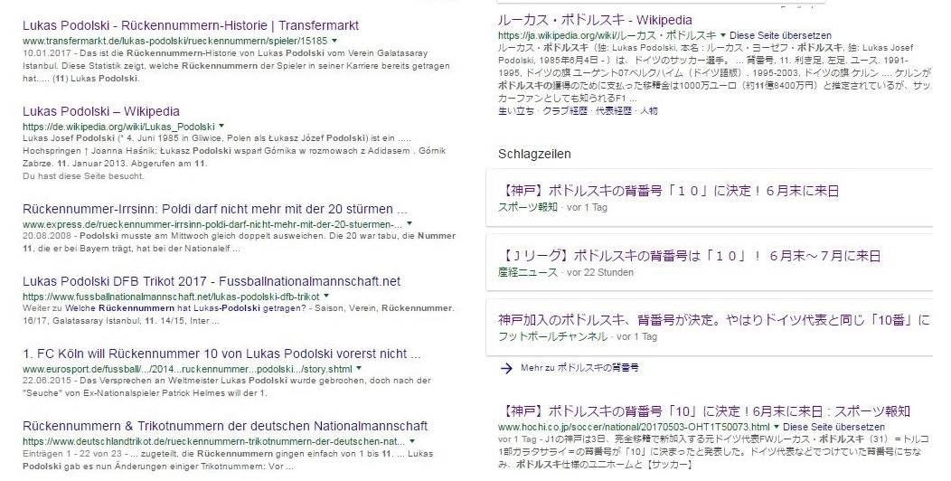 google podolski