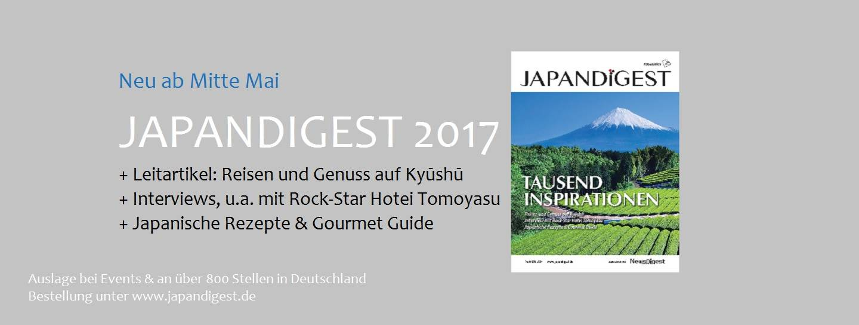 JAPANDIGEST Japan Digest Zeitschrift neu