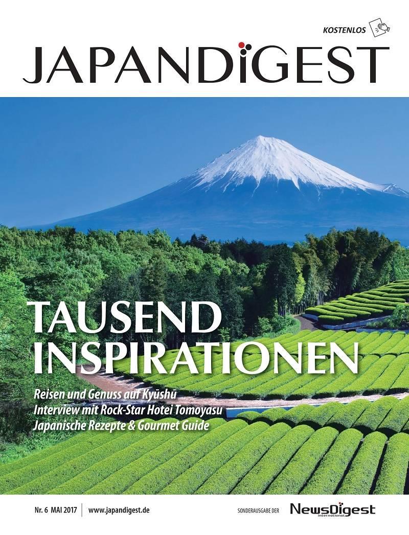 JAPANDIGEST Zeitschrift Japan Digest