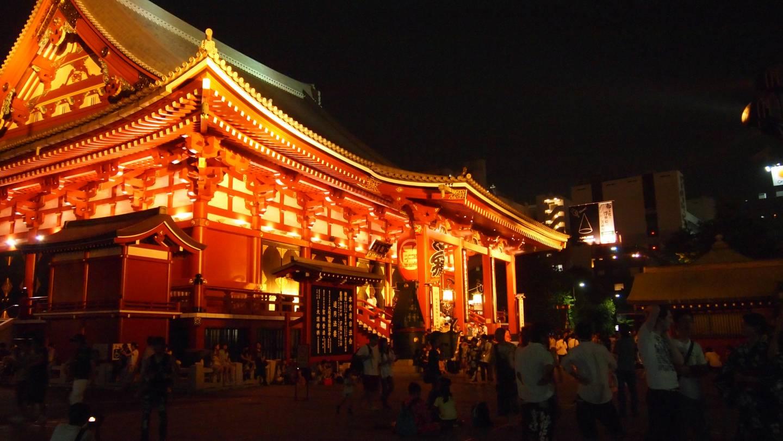 Erste Japan-Reise Asakusa Eindruck Japan Senso-ji