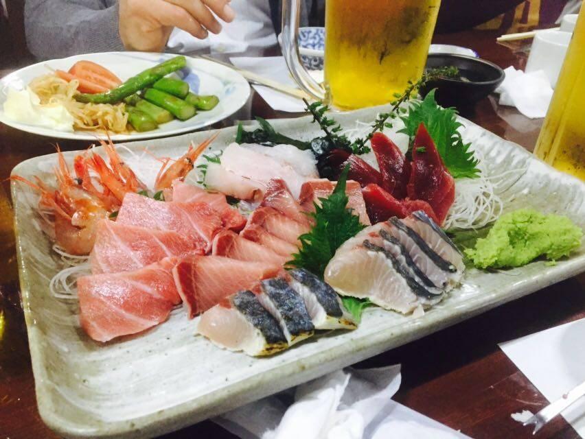 Erste Japan-Reise Sushi