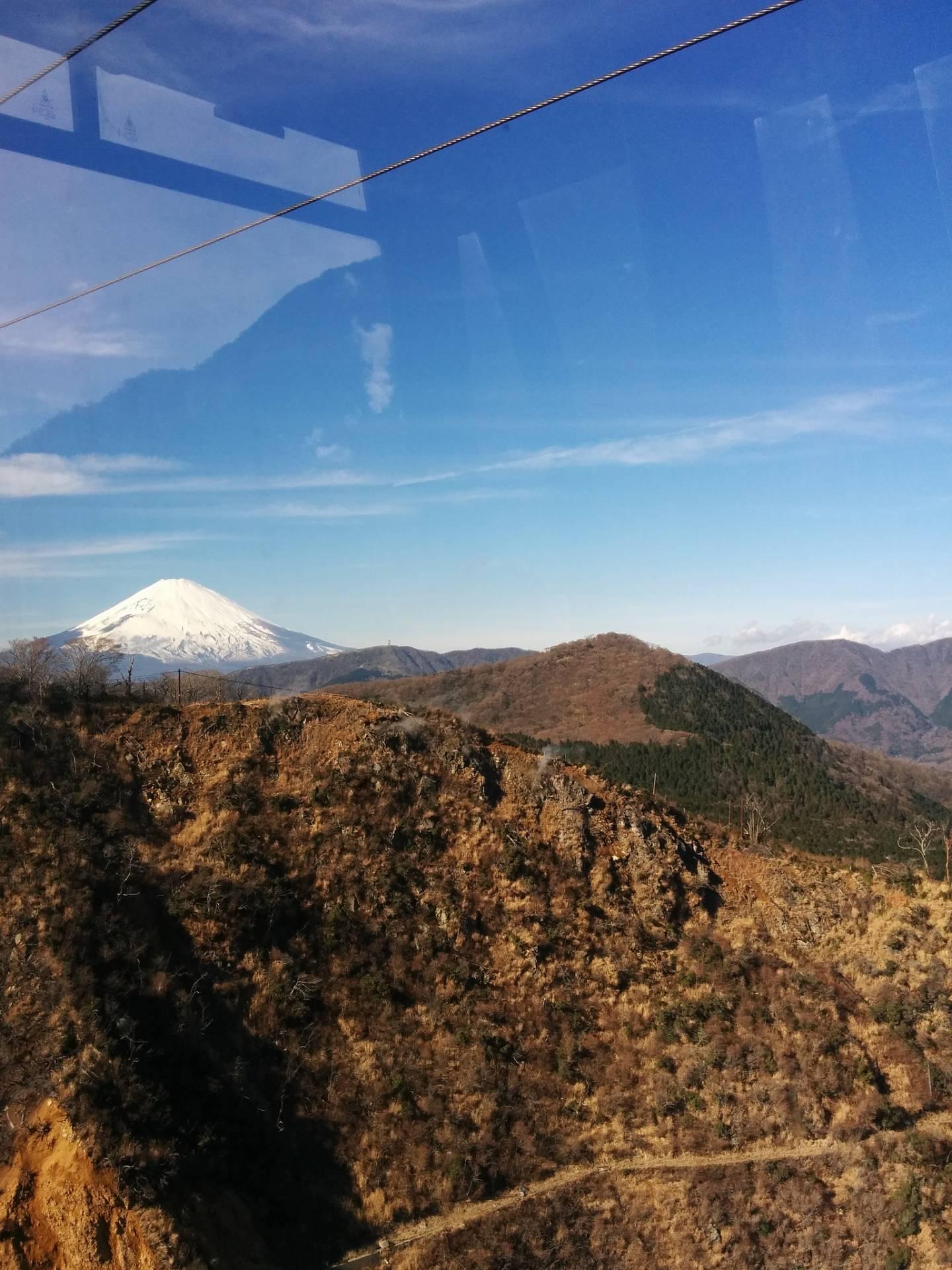 Hakone Fuji sehen Seilbahn Ropeway