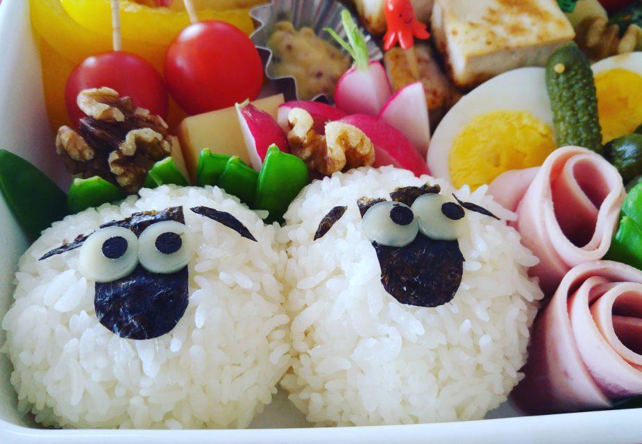 Fröhliche, japanische Bentô-Box