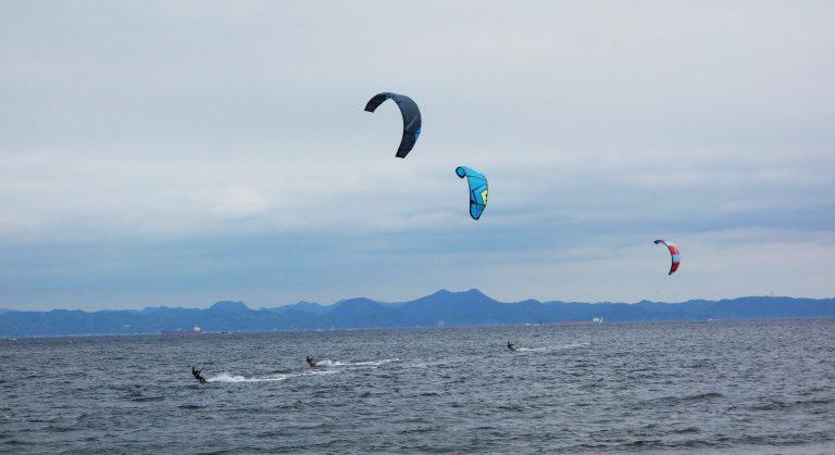 kitesurfer japan