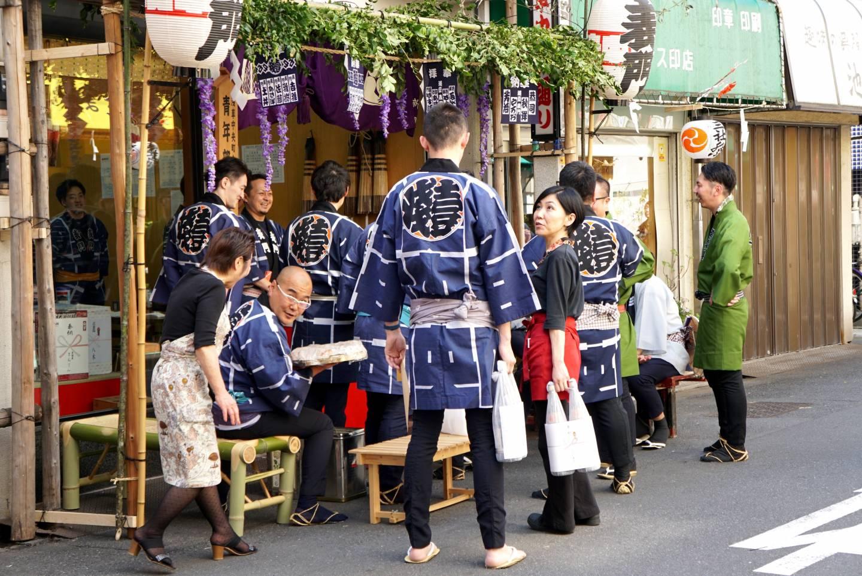 Festival Kleidung Asakusa
