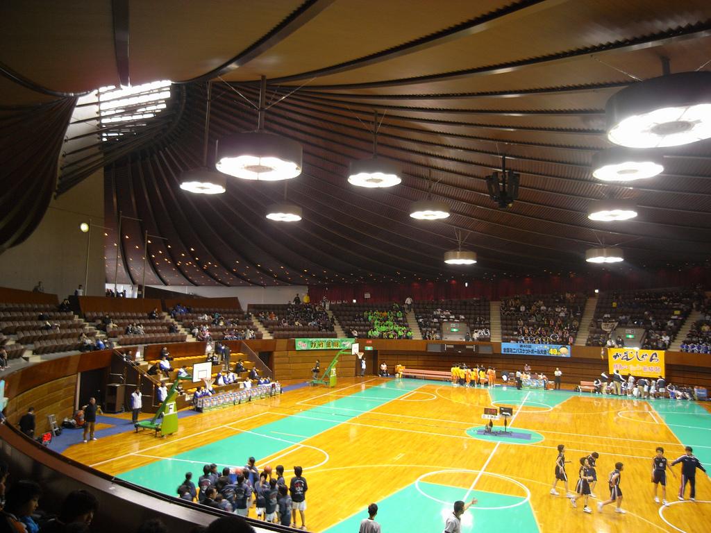 Sporthalle in Yoyogi