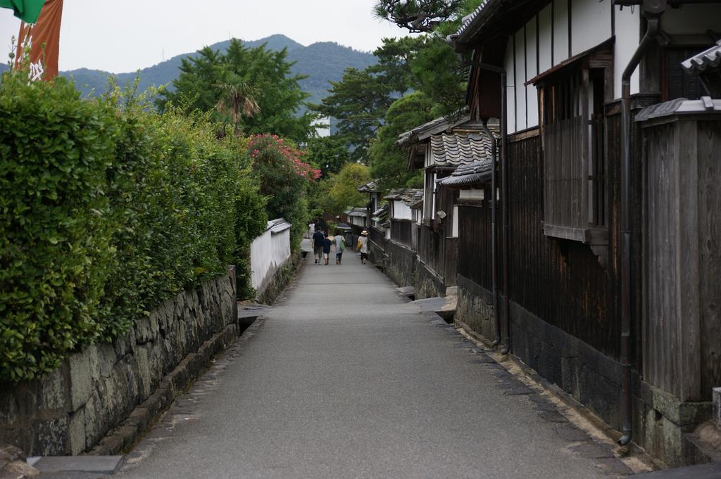 Alte Straße in Hagi