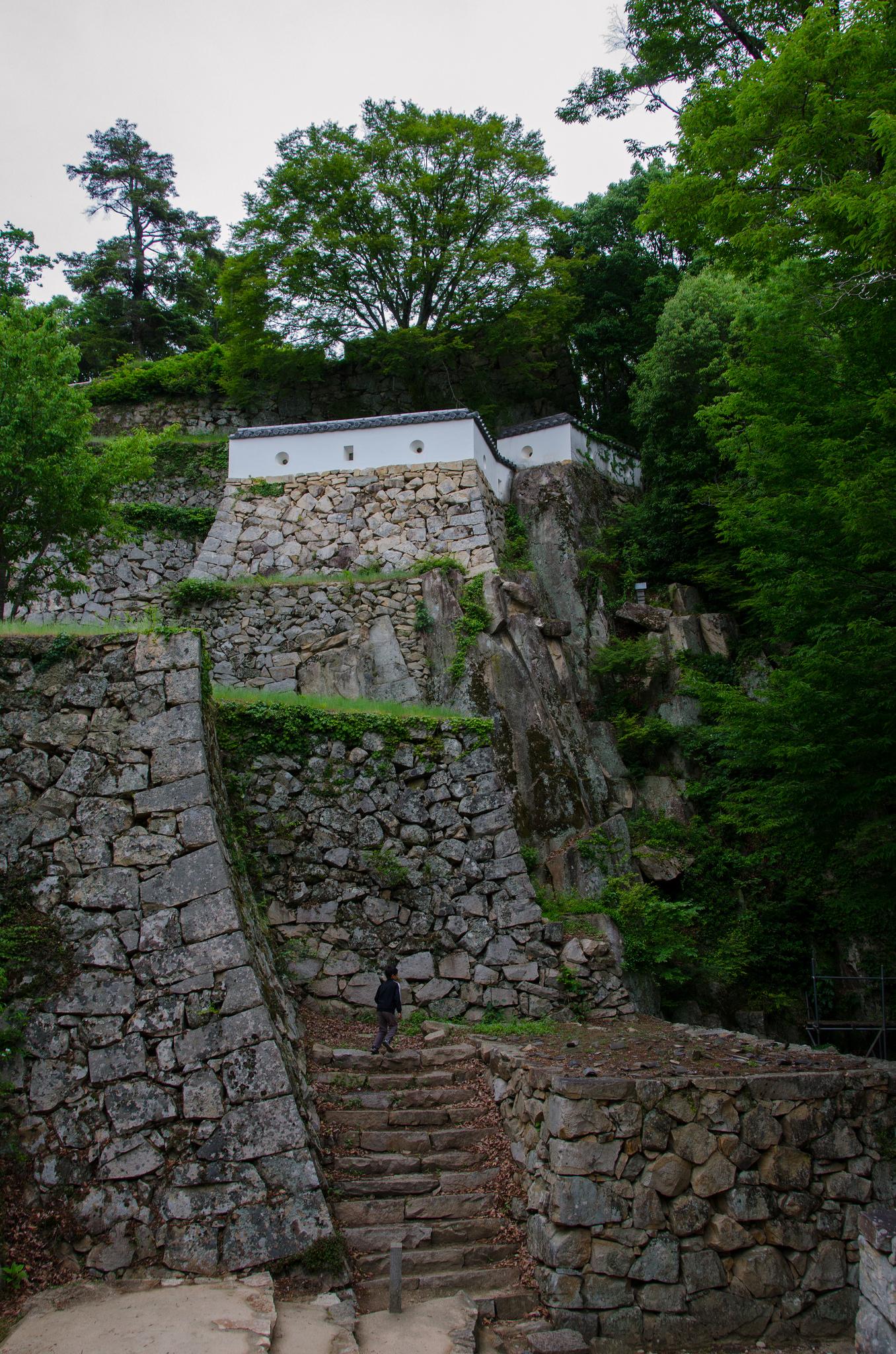 Burg Matsuyama in Bitchū-Takahashi