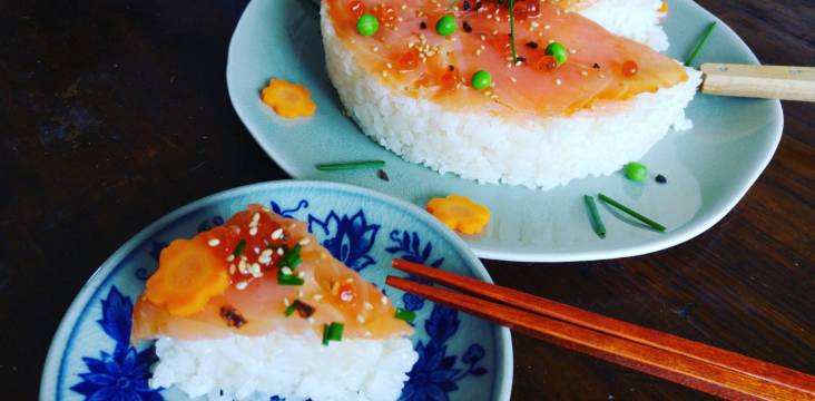 sushi kuchen