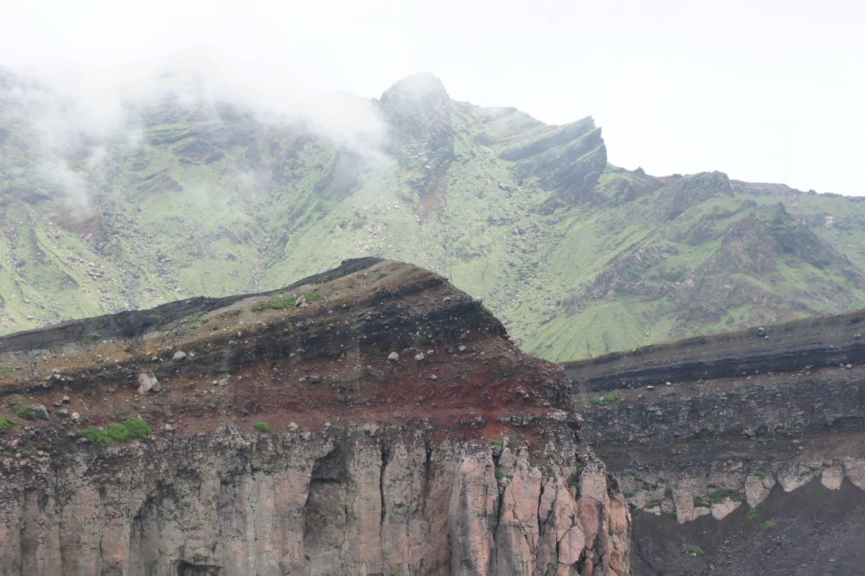 Vulkanlandschaft in Aso