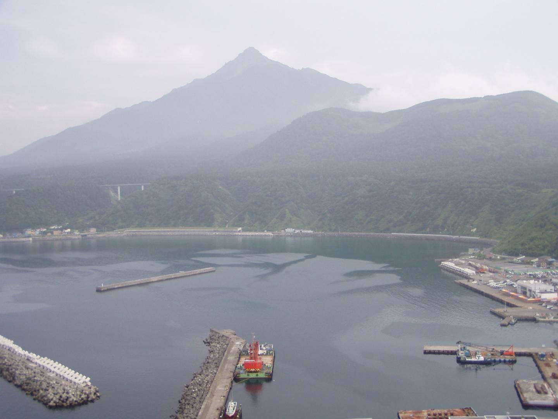 Die Insel Rishiri bei Hokkaidō