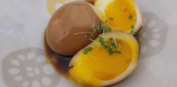 Marinierte Eier