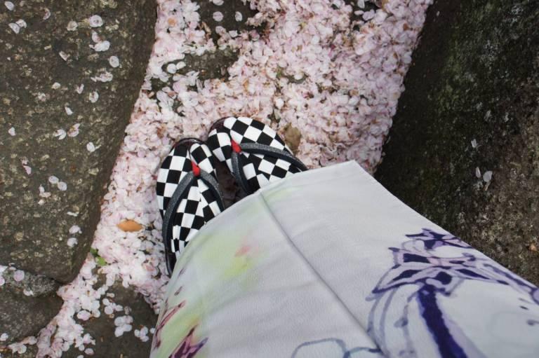 kirschblüte kimono