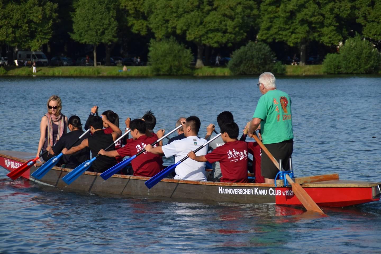 Drachenbootfahren in Hannover