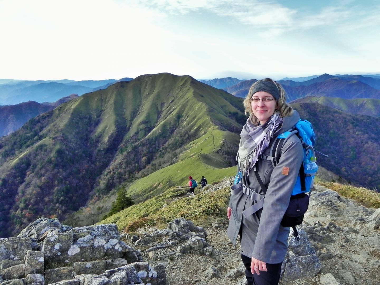 Hiking Mt. Tsurugi