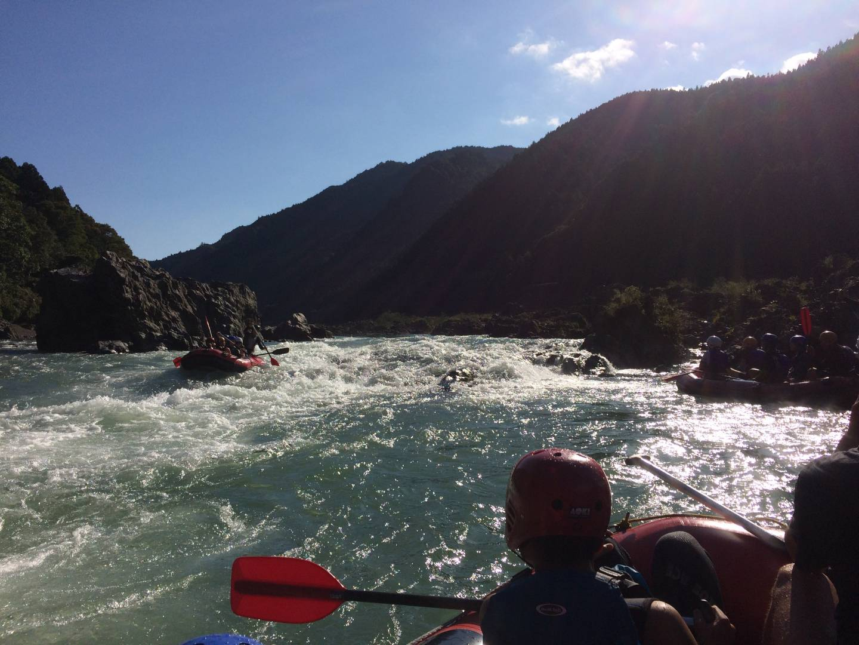 Rafting tokushima