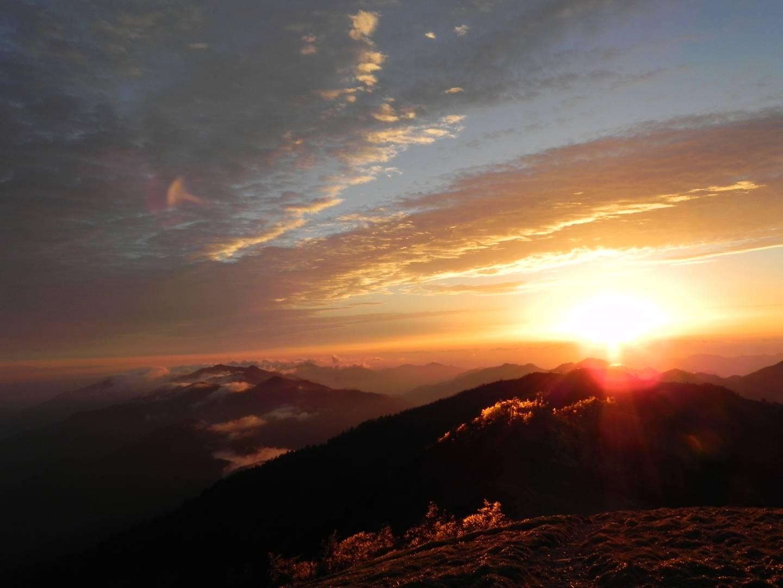 Berg Tsurugi tokushima