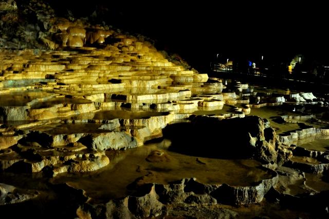 Felsformation in der Akiyoshido Höhle