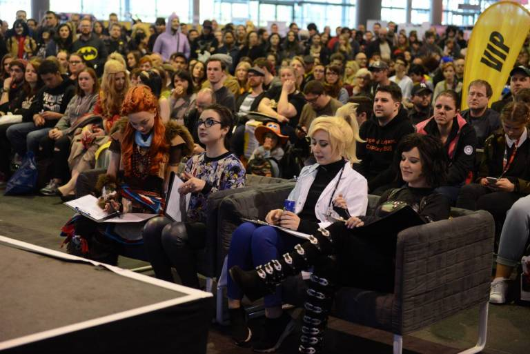 Publikum bei der German Comic Con