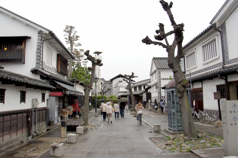 Straße in Kurashiki