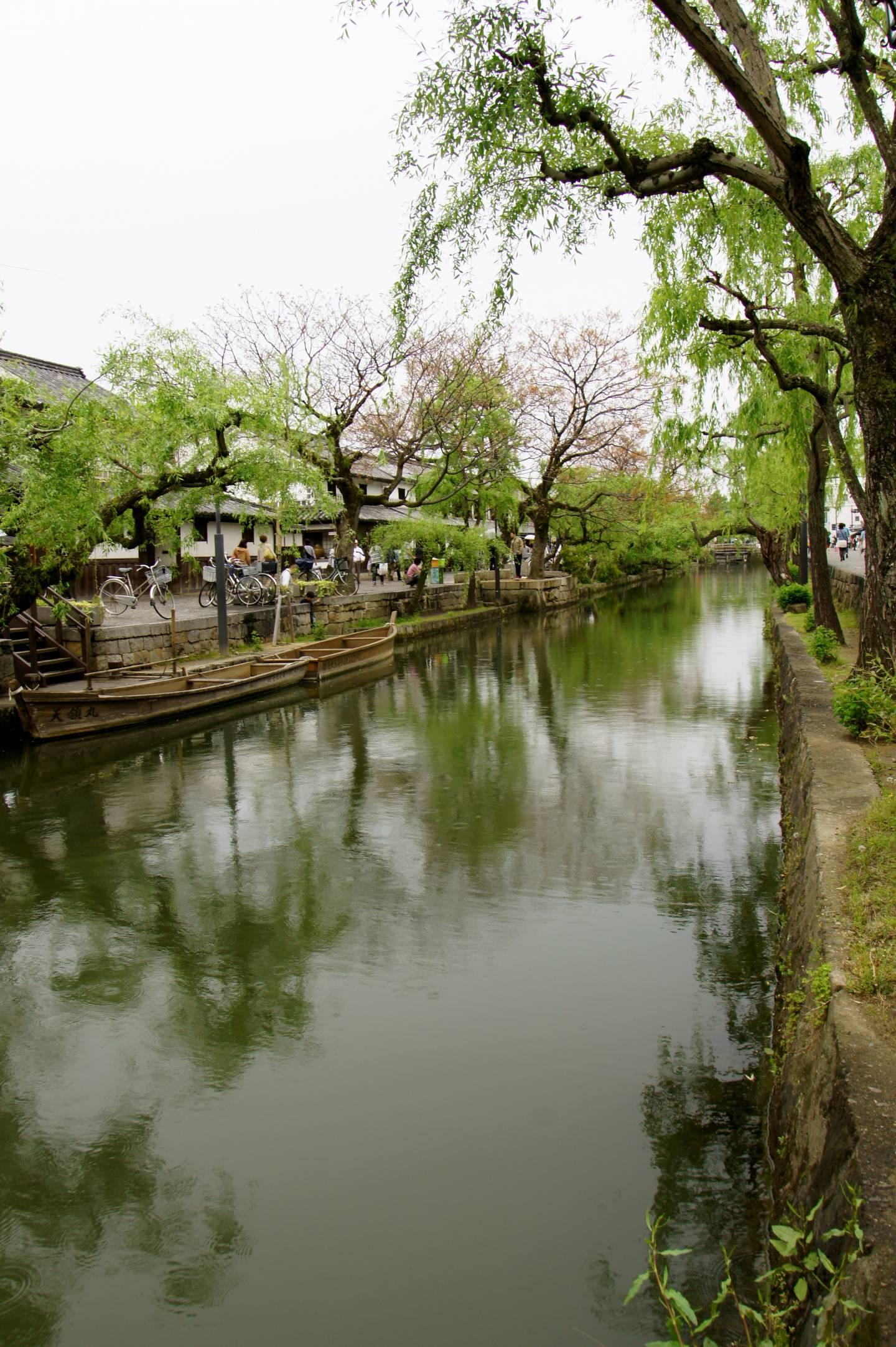 Kanal in Kurashiki