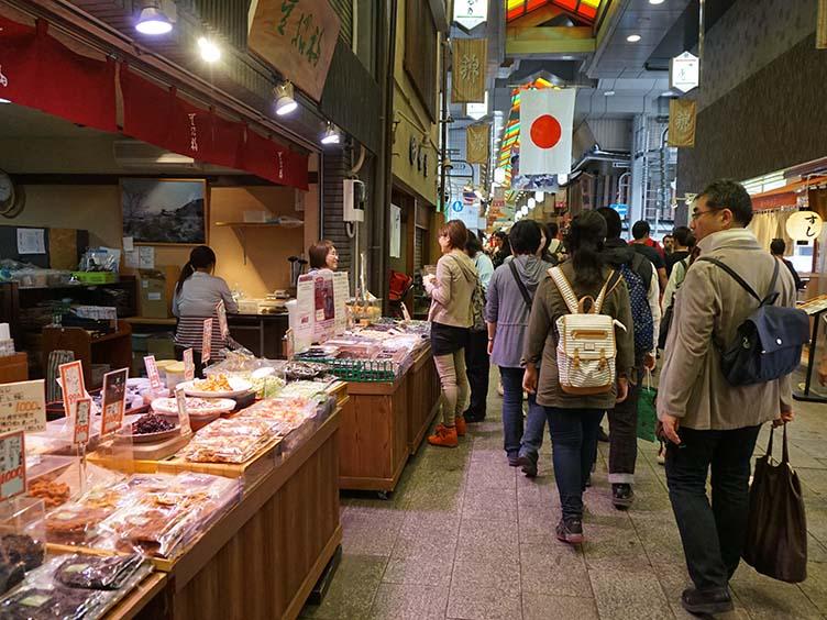 Nishiki Markt in Kyoto