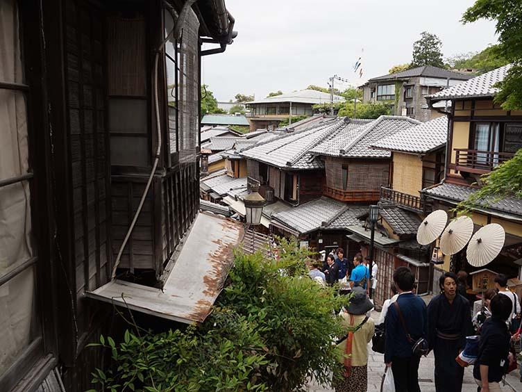 Gegend um den Kiyomizudera