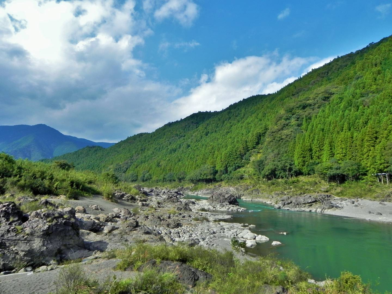 Der Fluss Naka