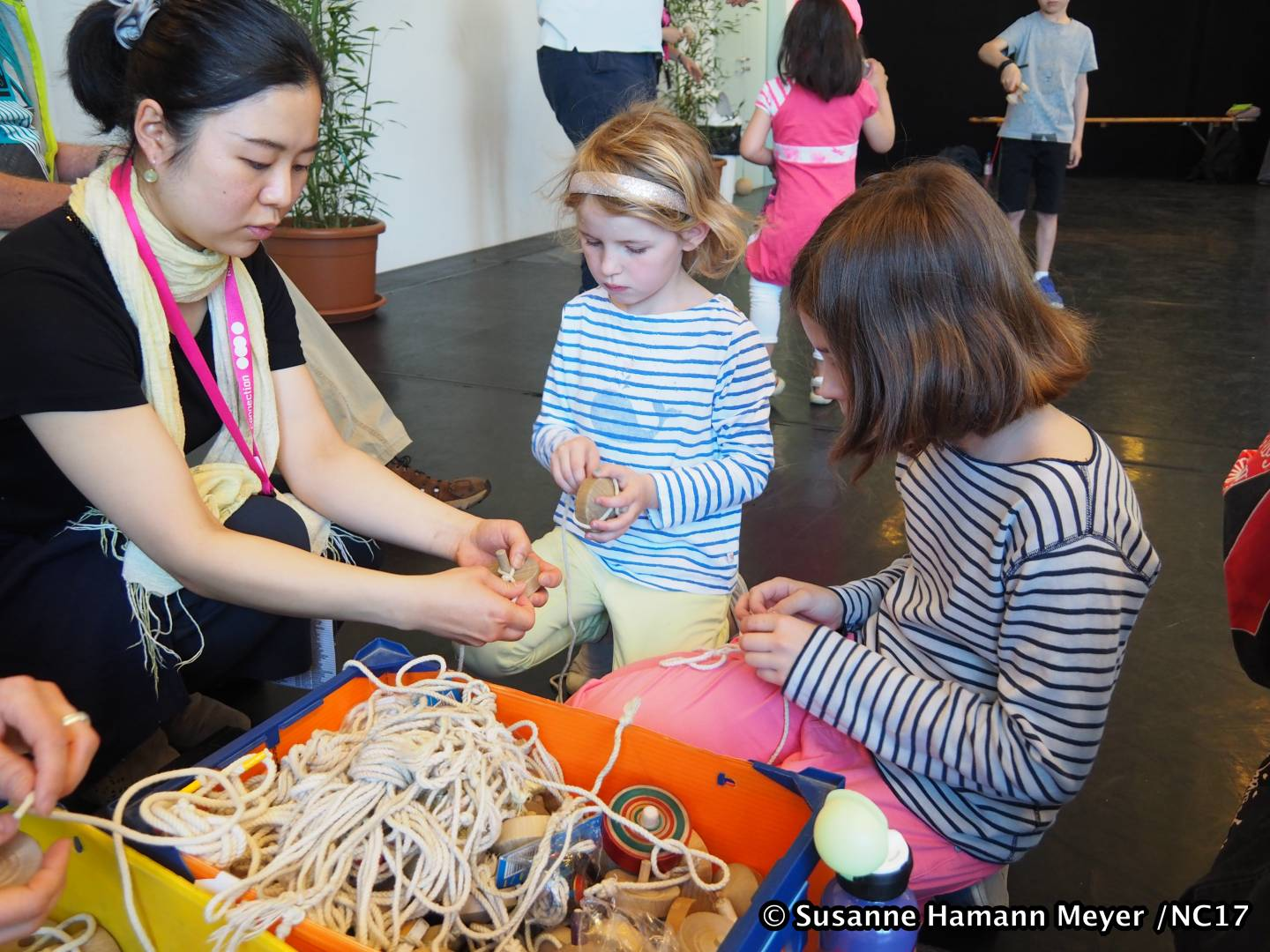 Kinder Spielprogramm bei der Nippon Connection
