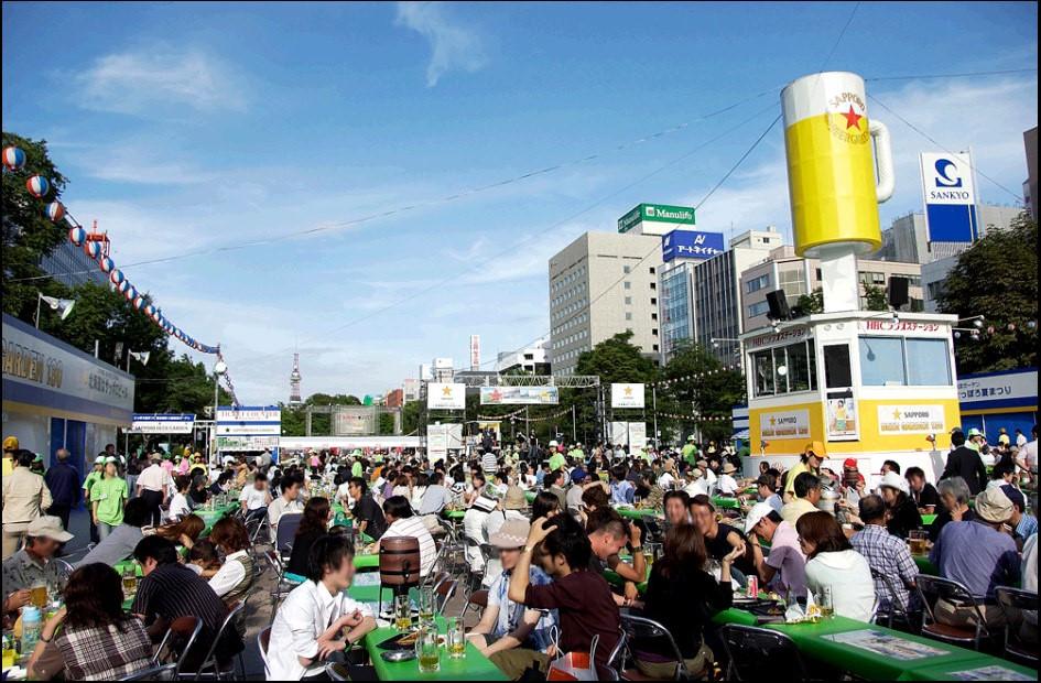 Bierfest im Odori-Park