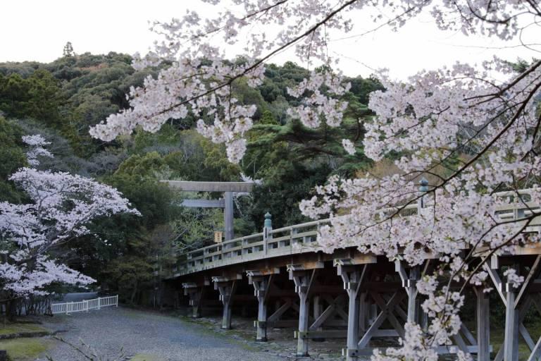 Brücke zum Ise jingu