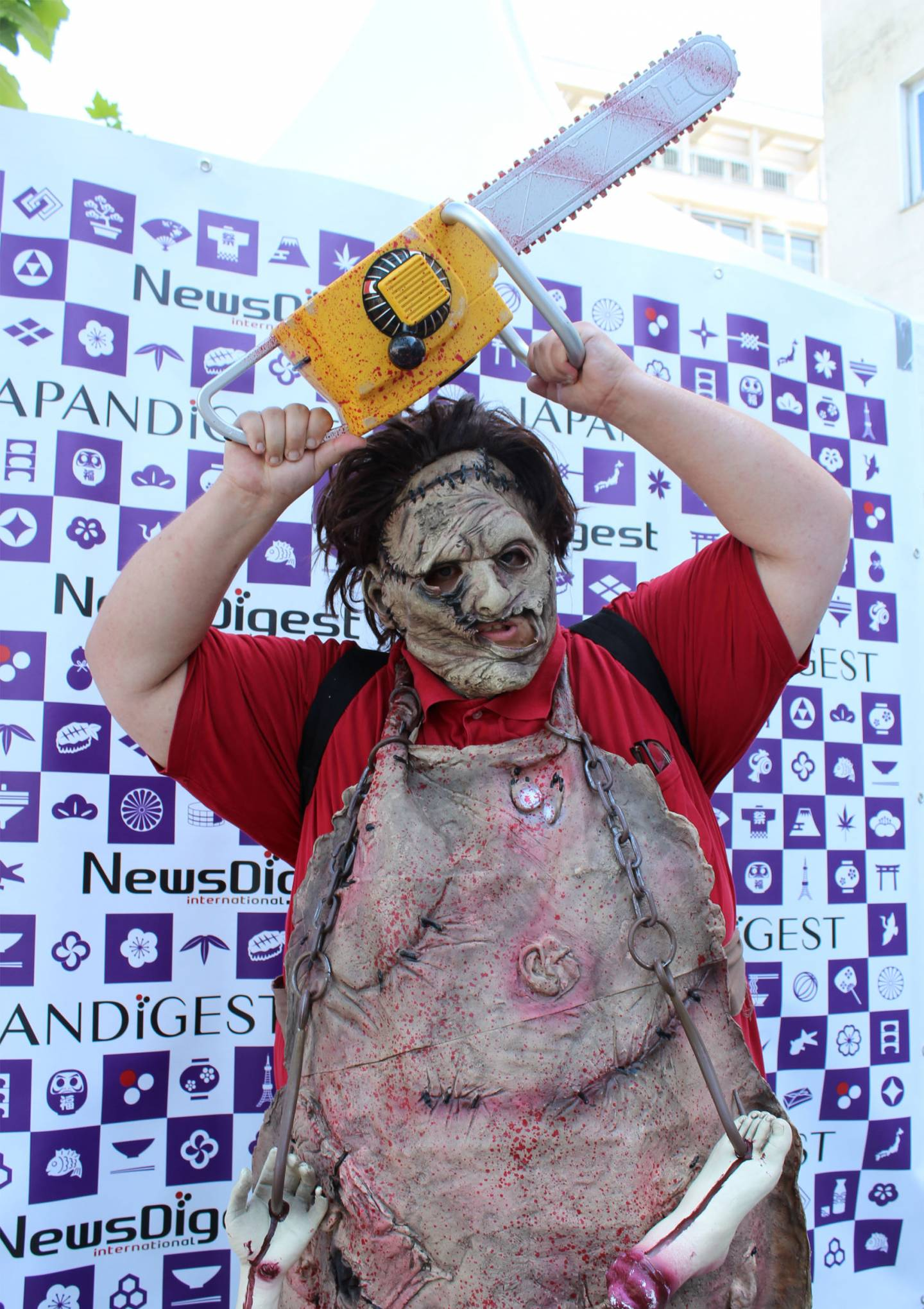 Leatherface cosplay