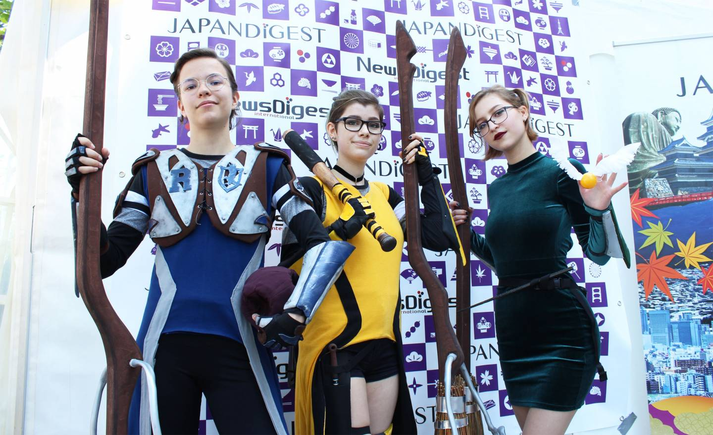 Quidditch cosplay