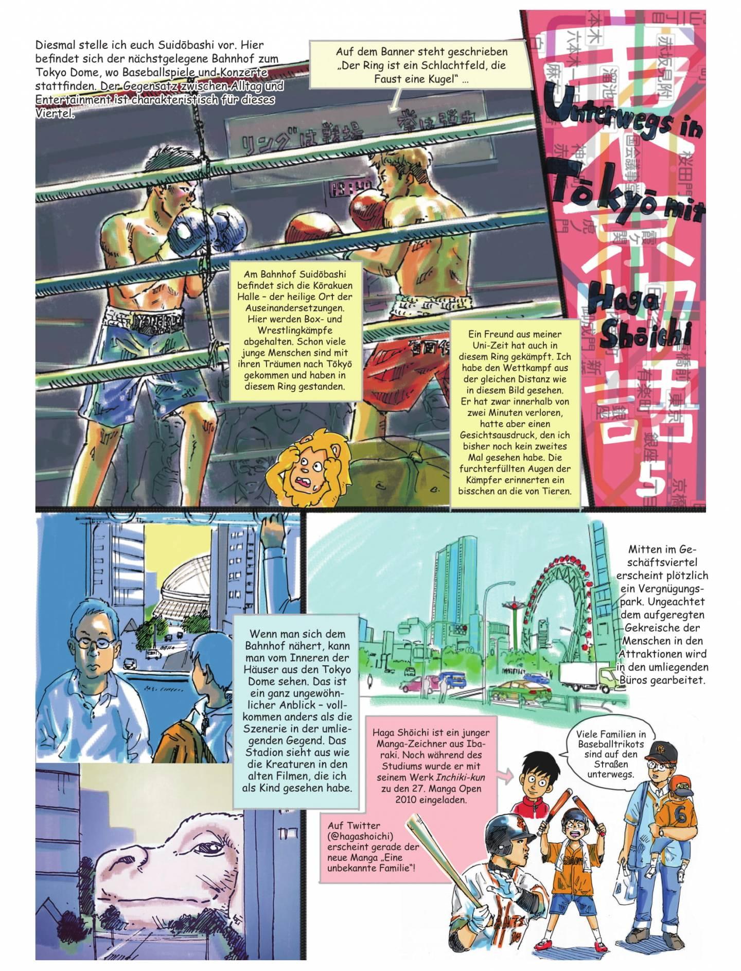 5. teil des reisemangas tokyo monogatari