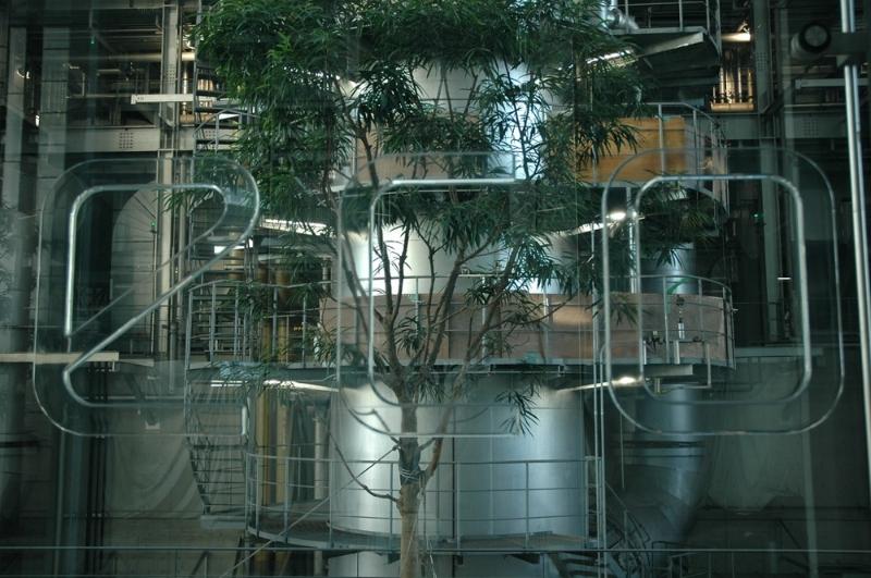 Das Atrium der Naka Verbrennungsanlage