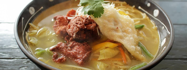 Thai Curry Ramen im Naniwa