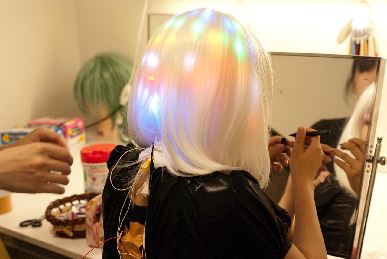 LED-Perücke