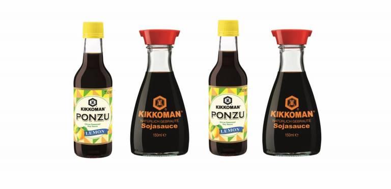 Kikkoman Sojasauce und Ponzu