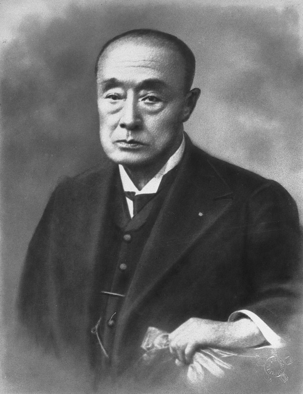 Porträt von Tokugawa Yoshinobu