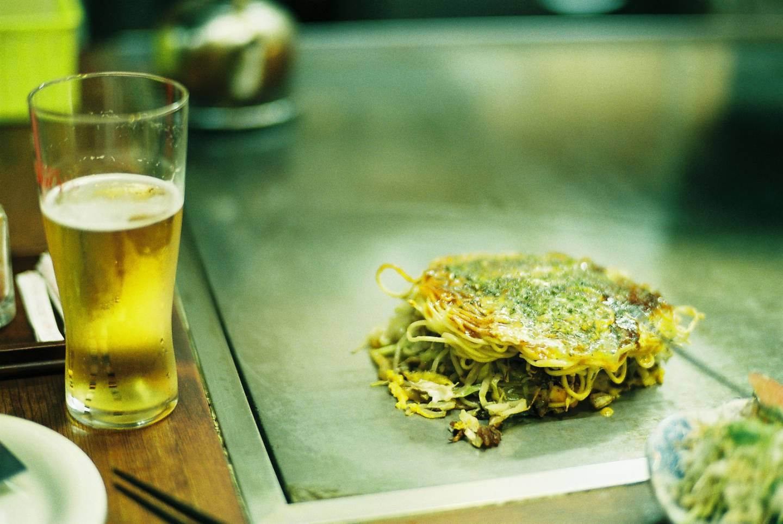 Ein Kansai-Klassiker: Okonomiyaki.